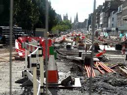 What a total mess they have made of our lovely city centre